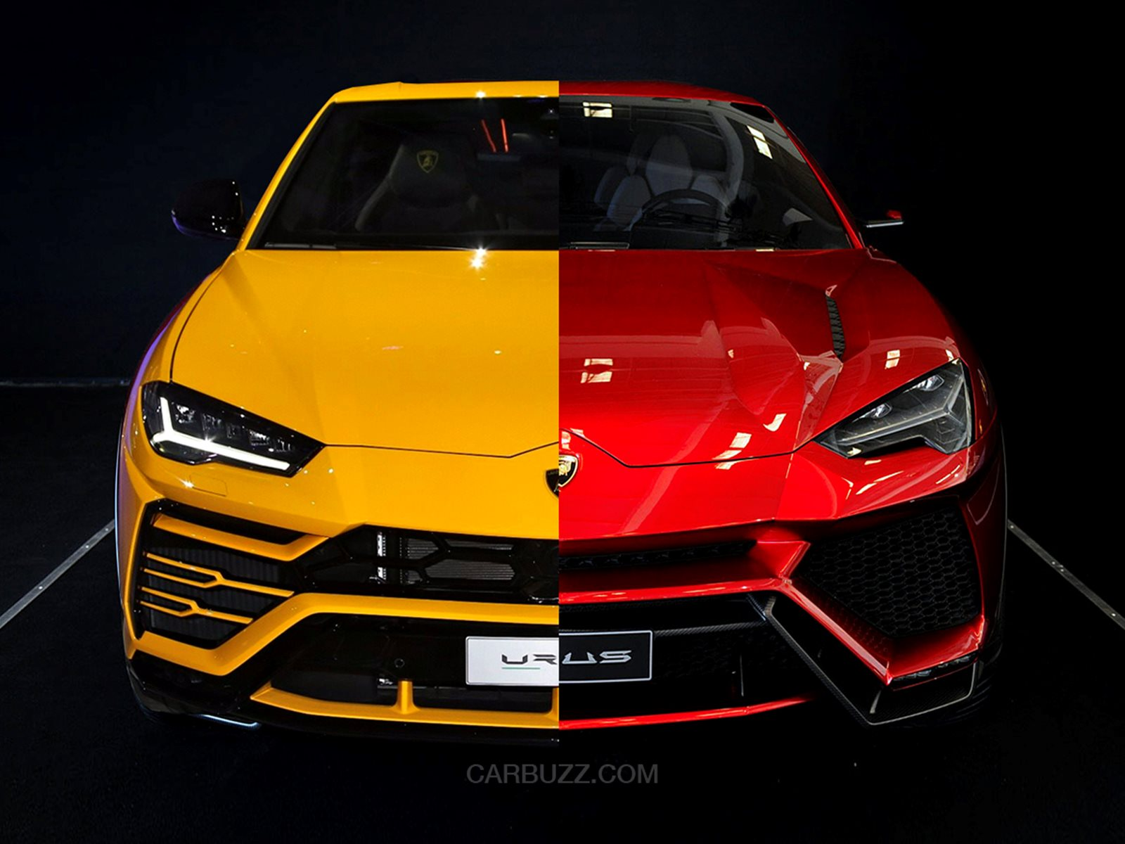 Lamborghini Urus Design Changes: 2012 Concept VS 2017 Final Version ...