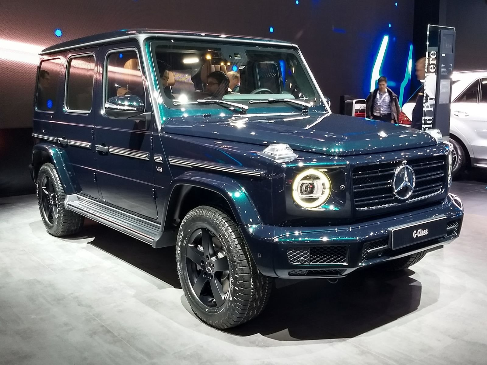 Here S How Amg Helped Develop The All New Mercedes G Class