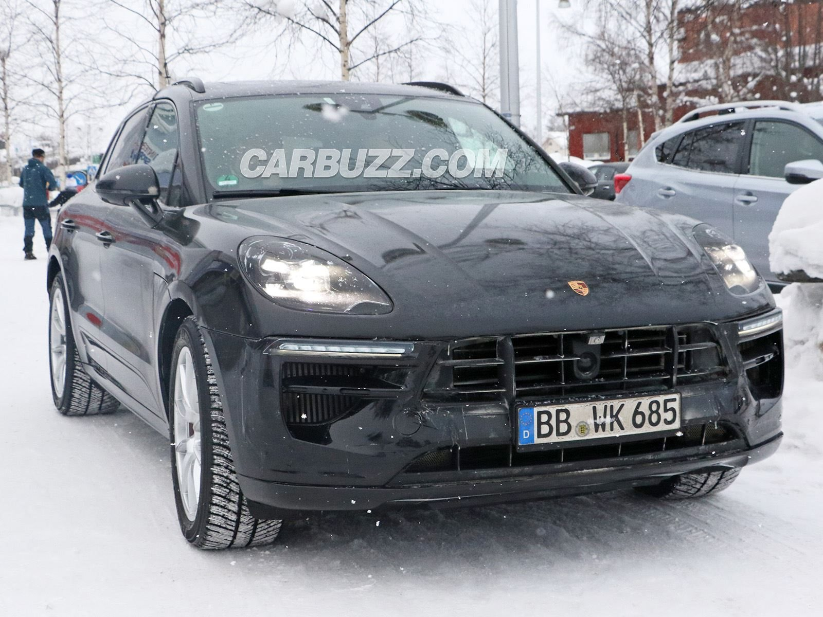 2019 Porsche Macan Poses As We Get To Look Inside For First Time