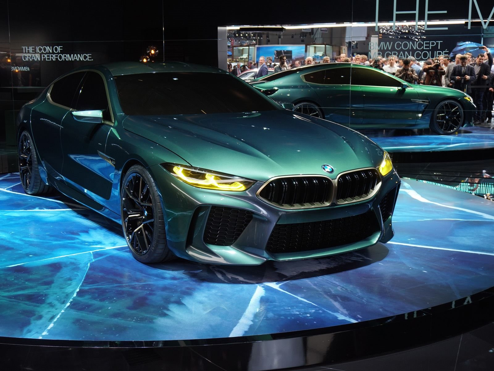 BMW Makes Us Envious With Green Concept M8 Gran Coupe - CarBuzz
