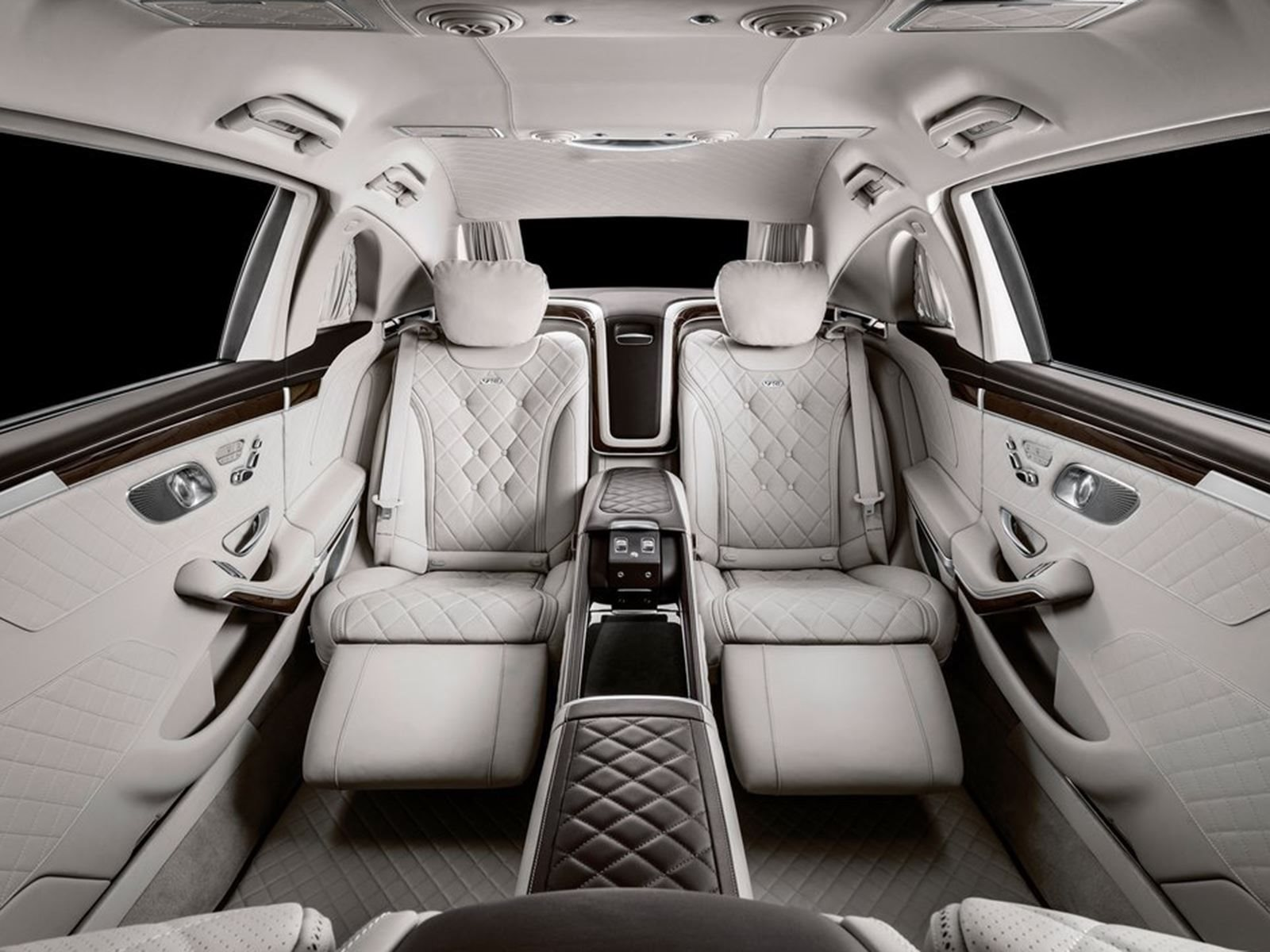 Introducing The Most Luxurious S Class Yet The S650 Maybach Pullman