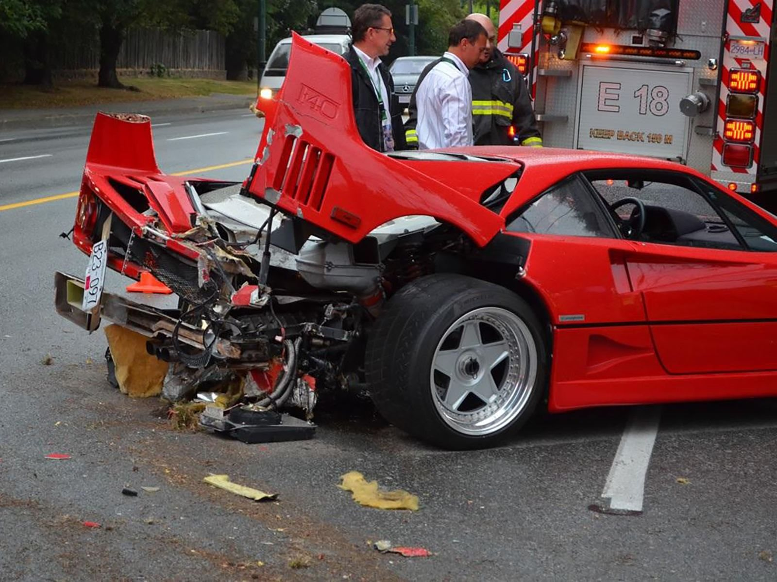 Ferrari F40 Owner Sues Insurer For Not Covering 1 Million Repair