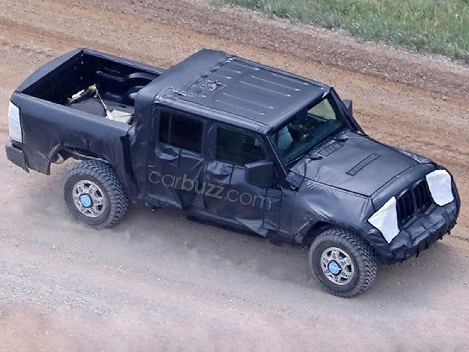Hereu0027s When The Jeep Wrangler Pickup Truck Will Be In Dealerships   CarBuzz
