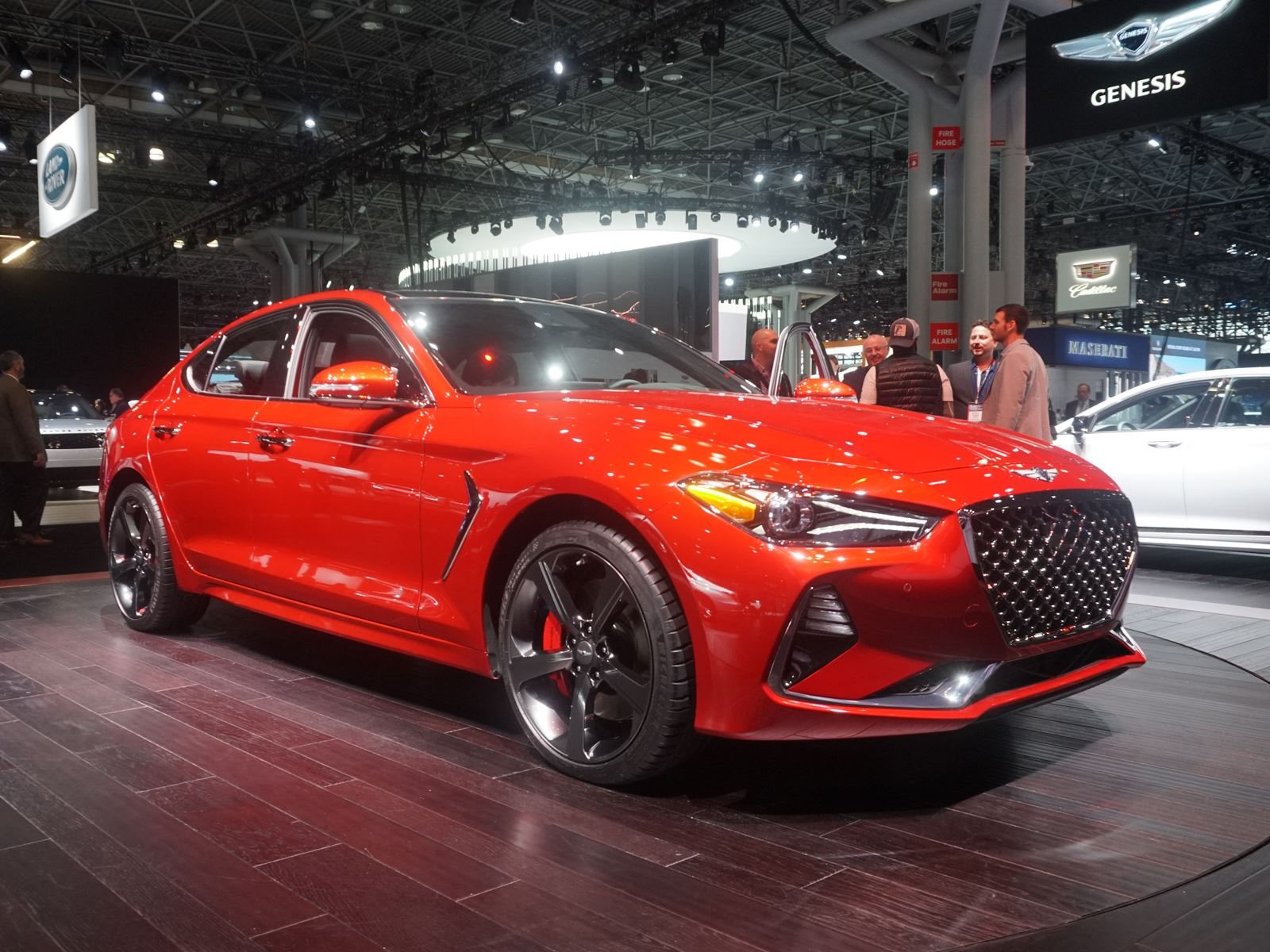 2019 Genesis G70 Arrives In New York To Fight The Bmw 3 Series Carbuzz