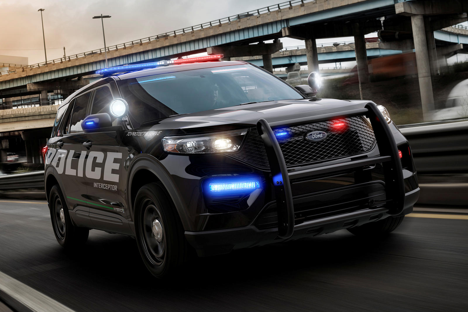 This Is The All-New 2020 Ford Explorer Police Interceptor ...