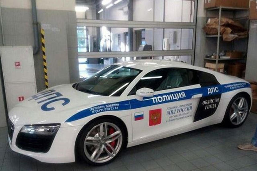 Russian Police Now Have A Supercar Cop Car