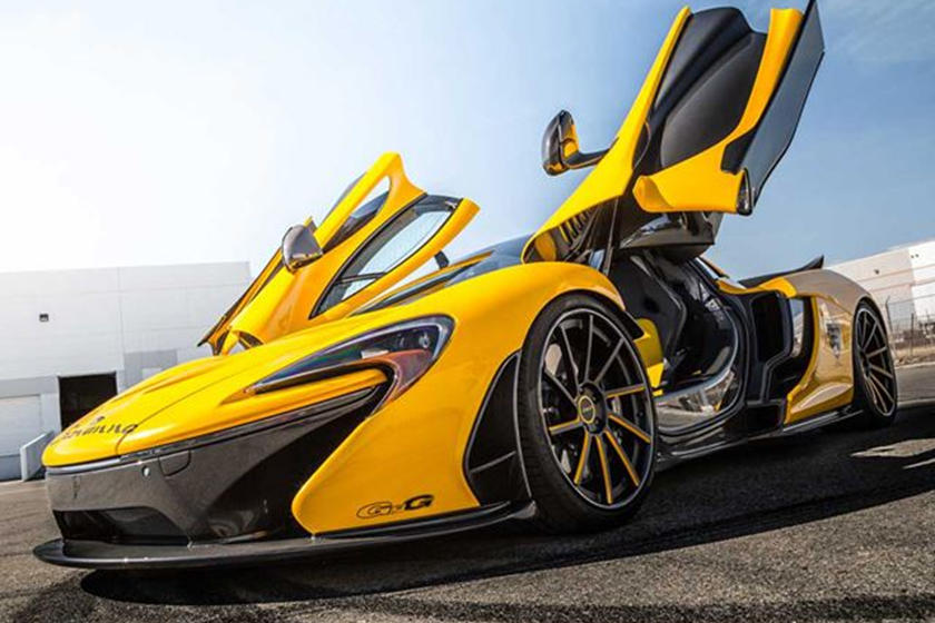 Hereu0027s How You Can Get A FREE Ride In A McLaren P1   CarBuzz