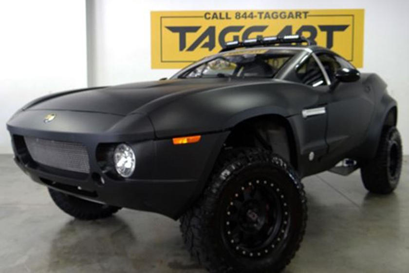 Local Motors Rally Fighter >> This Awesome Dealer Is Selling A Local Motors Rally Fighter Carbuzz