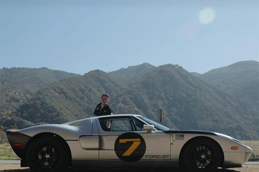 Of Course The Guy Who Designed The  Ford Gt Drives A Ford Gt Carbuzz