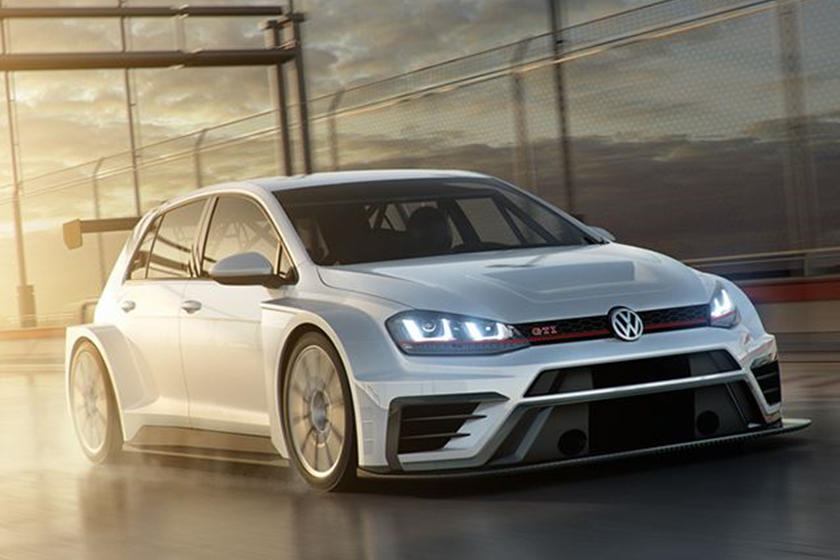 The 350-HP Volkswagen GTI TCR Is A Hot-Hatch For The Track