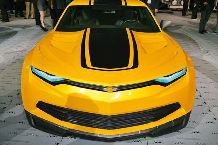 Bumblebee Won't Be A Camaro In The Next Transformers Movie - CarBuzz