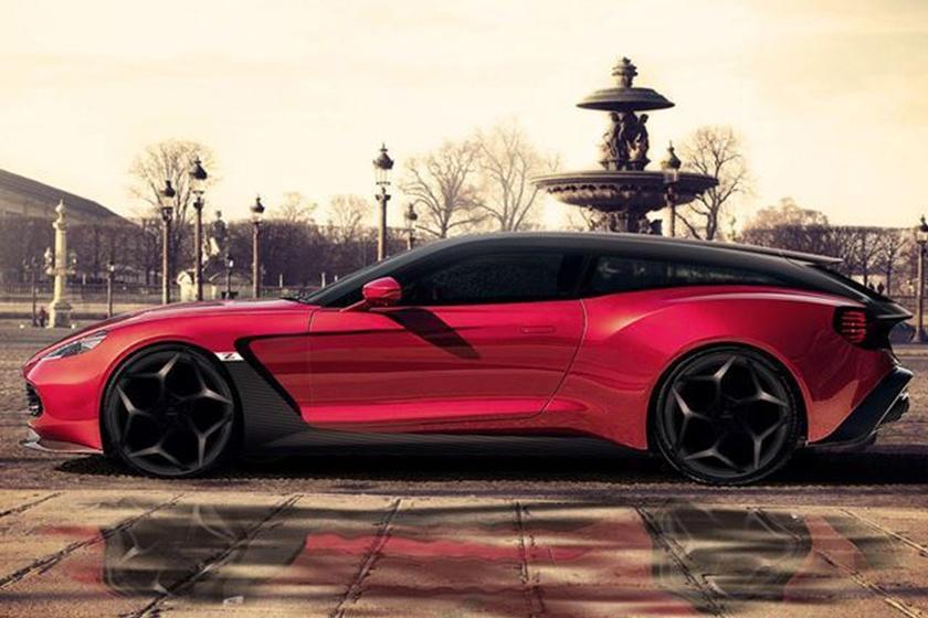 Aston Martin Breaks The Internet With New Vanquish Zagato Shooting - Aston martin zagato price