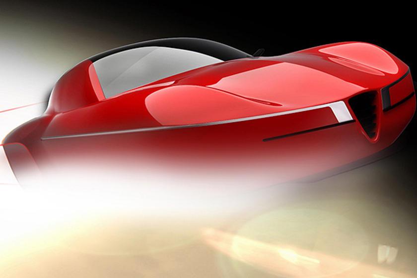 Alfa Romeo Disco Volante Touring Concept Teased For Geneva Carbuzz