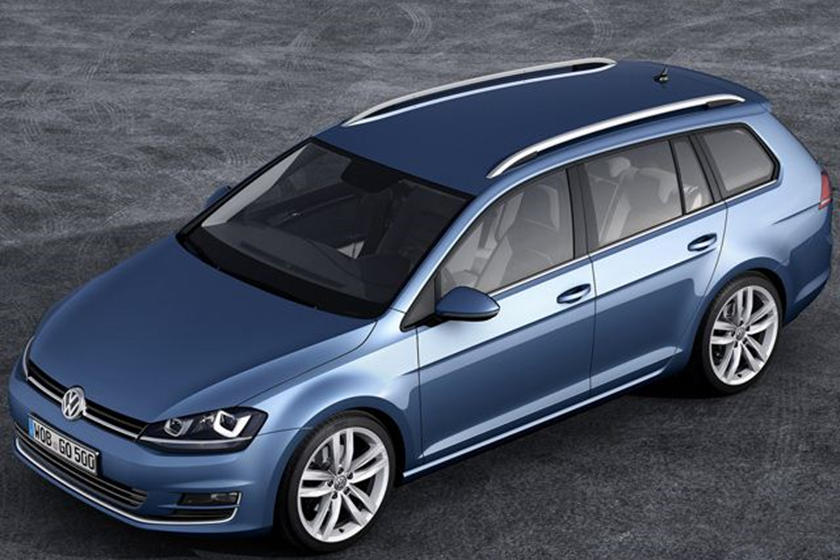 2014 Vw Golf Variant Stretches Early Carbuzz