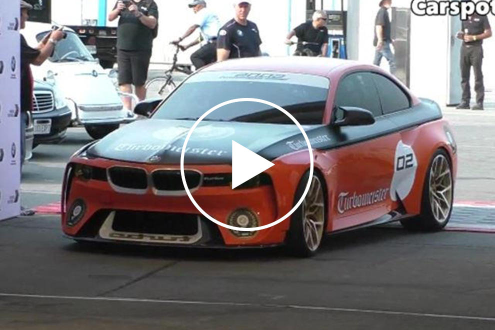 Bmws 2002 Hommage Concept Looks And Sounds Ready For The Track