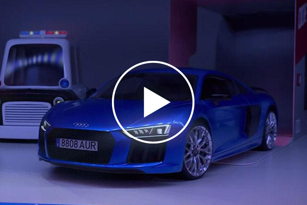 Audi Recreates Toy Story With An Audi R8 In A New Short Film Carbuzz