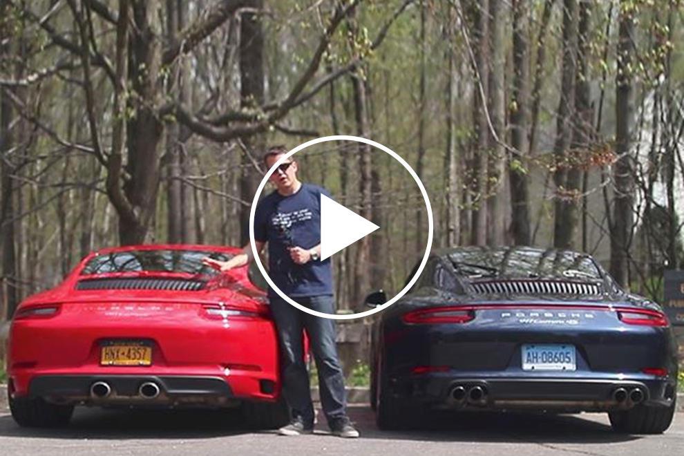 these are the differences between a porsche 911 pdk and a manual rh carbuzz com Porsche PDK Interior Porsche PDK Steering Wheel
