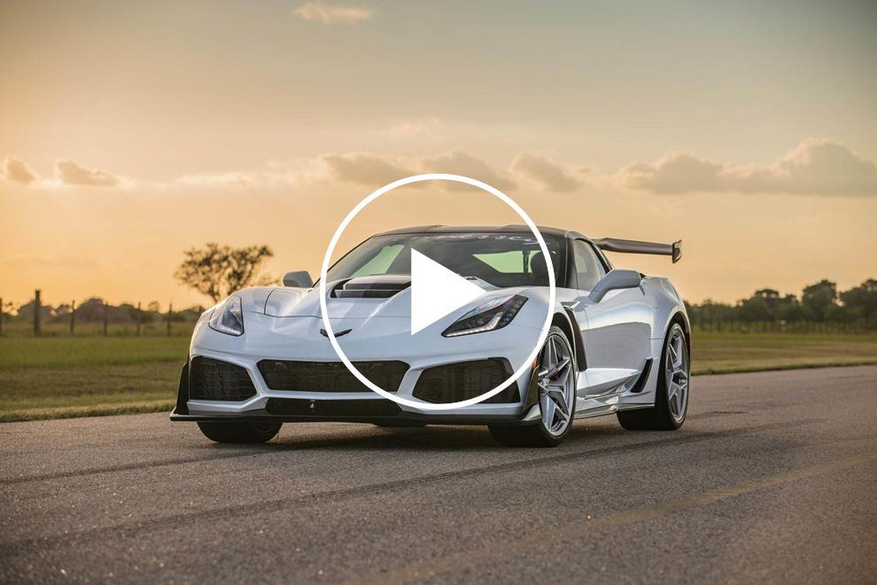 Watch A 1,000-HP Corvette Destroy The Dyno