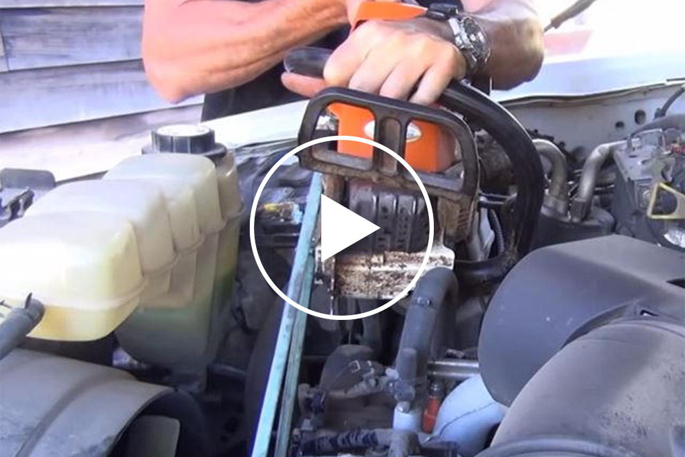 How to Charge Your Car Battery with Your Chainsaw