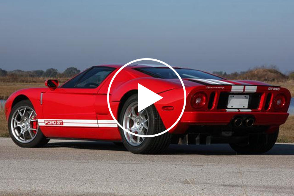 Check Out This Hennessey Tuned Ford Gt On The Dyno