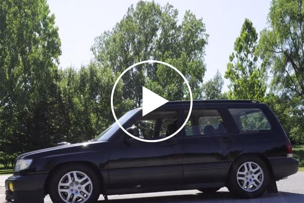 Engine Swap Makes This 1998 Subaru Forester Cool