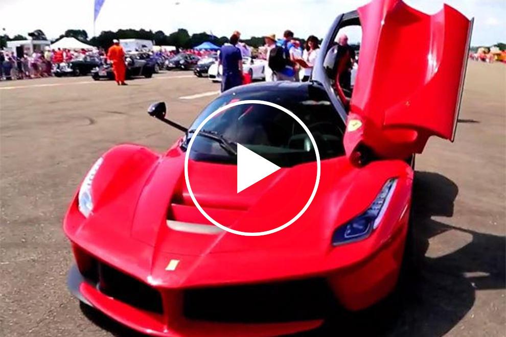 Chris Evans Tears Up Top Gear Track in Ferrari LaFerrari