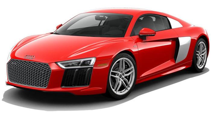 2018 Audi R8 Coupe Coupe V10 RWD thumbnail