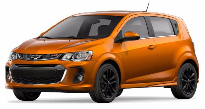 2018 Chevrolet Sonic Hatchback Automatic LT w/1SD thumbnail