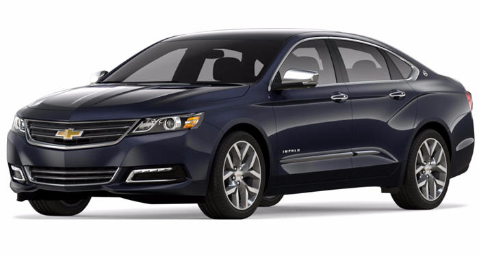 2018 Chevrolet Impala Sedan LS w/1FL thumbnail