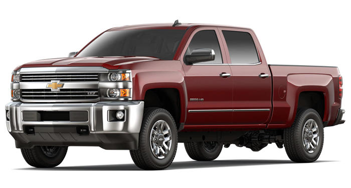 "2018 Chevrolet Silverado 2500HD 2WD Double Cab 144.2"" Work Truck thumbnail"