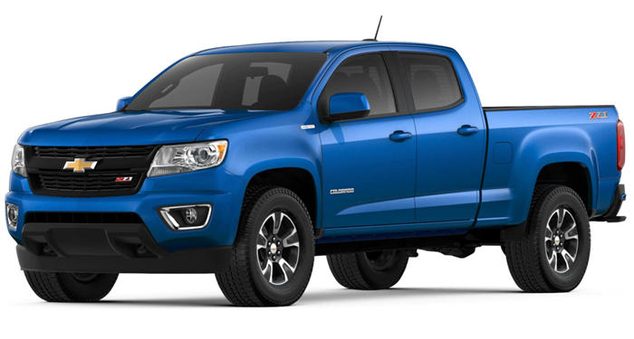 "2018 Chevrolet Colorado Crew Cab 4WD Crew Cab 140.5"" Work Truck thumbnail"