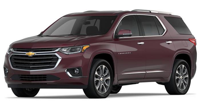 2018 Chevrolet Traverse AWD Premier w/1LZ thumbnail
