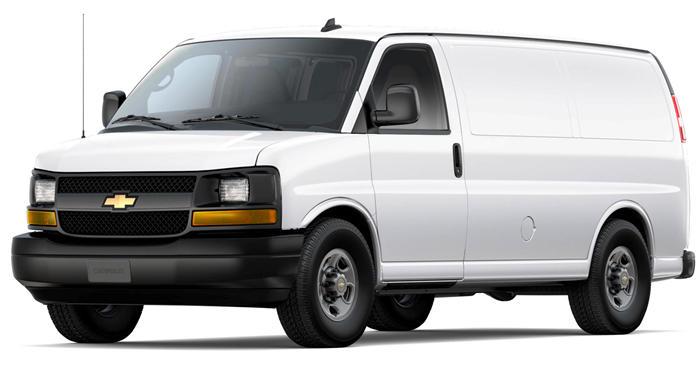"""2018 Chevrolet Express Cargo Van RWD 3500 155"""" thumbnail"""