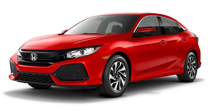 2018 Honda Civic Hatchback EX CVT w/Honda Sensing thumbnail