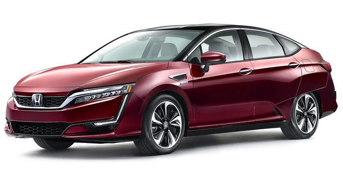 2017 Honda Clarity Fuel Cell Sedan thumbnail