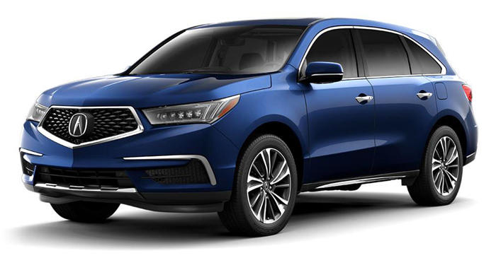 2018 Acura MDX SH-AWD with Technology and Entertainment Package thumbnail