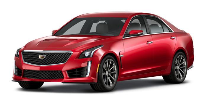 2018 Cadillac CTS-V 6.2L V8 Sedan thumbnail