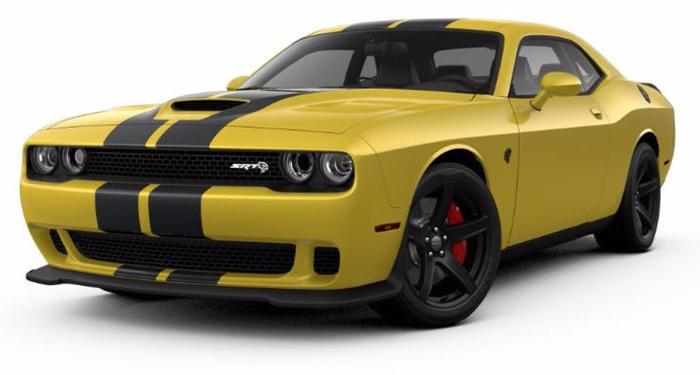 2018 Dodge Challenger SRT Hellcat RWD thumbnail