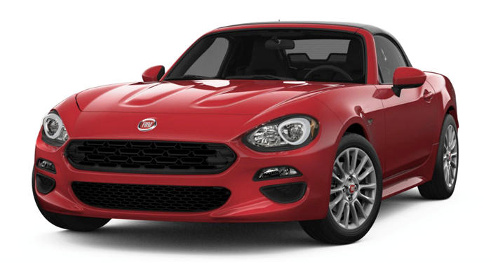 2018 Fiat 124 Spider Lusso Red Top Edition Convertible thumbnail