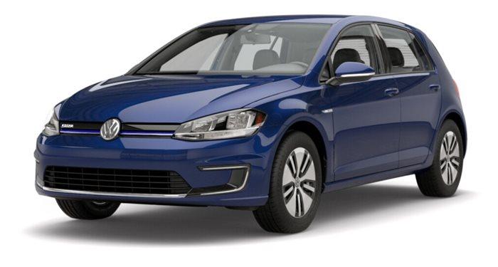 2018 Volkswagen e-Golf SE thumbnail