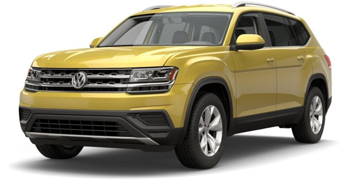 2018 Volkswagen Atlas SE with Technology thumbnail