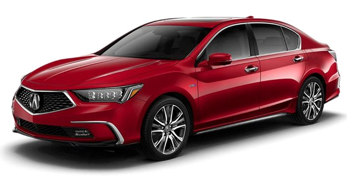 2018 Acura RLX Hybrid Sport Hybrid Sedan with Advance Package thumbnail
