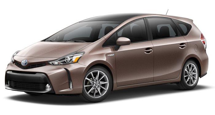 2017 Toyota Prius v Three thumbnail