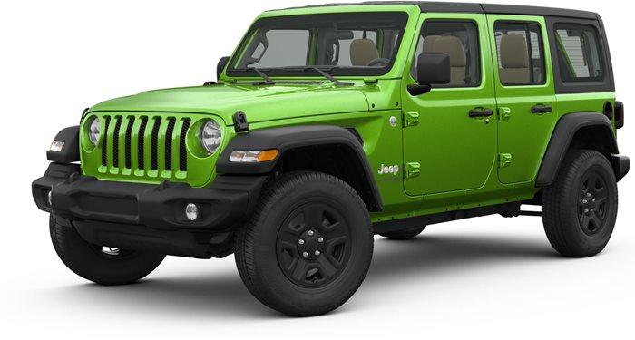 2018 Jeep Wrangler Unlimited 4-Door Sahara 4x4 thumbnail