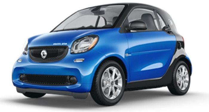 2018 smart fortwo Electric Drive Coupe Passion Coupe thumbnail