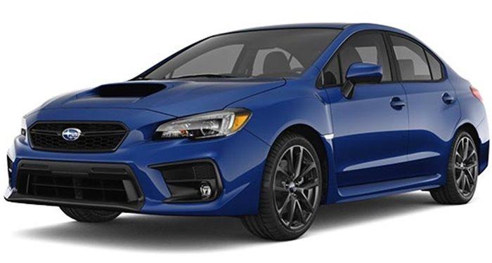 2018 Subaru WRX Sedan Manual thumbnail