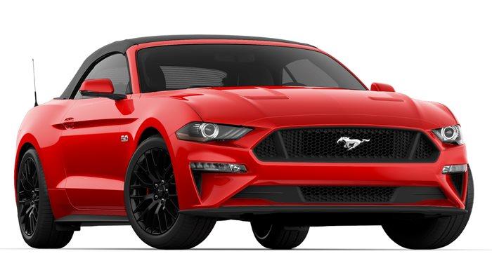 2018 Ford Mustang GT Convertible GT Premium Convertible thumbnail