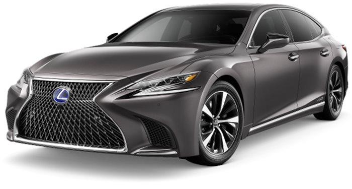 2018 Lexus LS LS 500h AWD thumbnail
