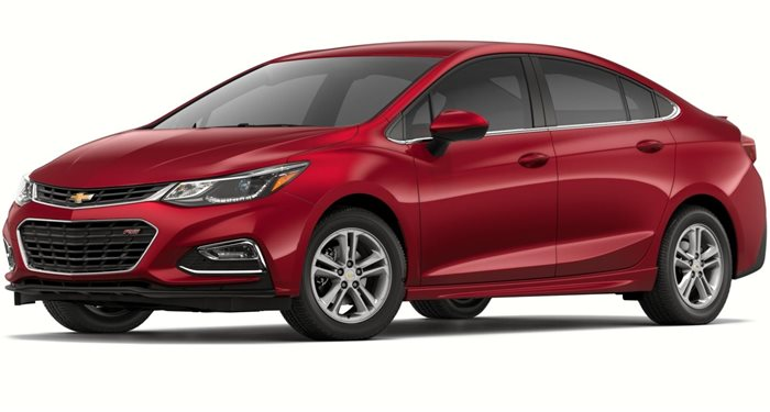 2018 Chevrolet Cruze Sedan 1.4L LT w/1SD thumbnail