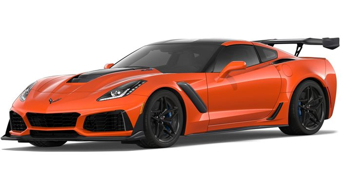 2019 Chevrolet Corvette ZR1 Coupe ZR1 Coupe 3ZR thumbnail